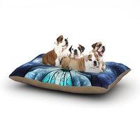 East Urban Home Mandie Manzano 'The Snow Queen' Frozen Dog Pillow with Fleece Cozy Top Size: Small (40