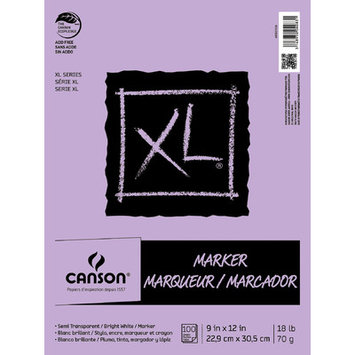 Canson Glue Bound Marker Pad (100 Sheet), 9