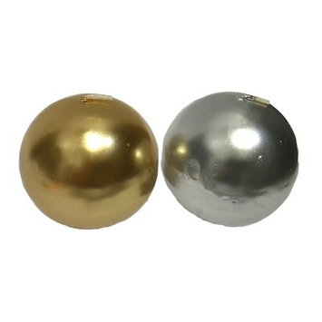 Essential Decor & Beyond Novelty Candle Color: Gold/Silver