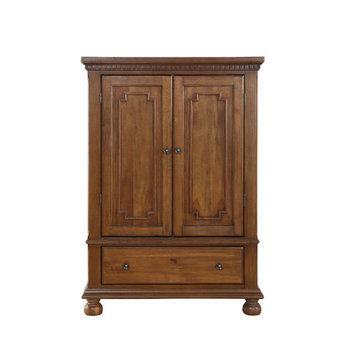 Bertini Beckem Armoire - Antique Natural