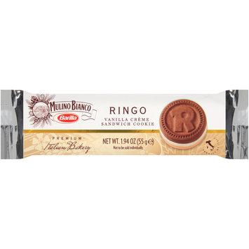 Barilla® Mulino Bianco Ringo Vanilla Creme Sandwich Cookies, 6-1.94 oz. Packs