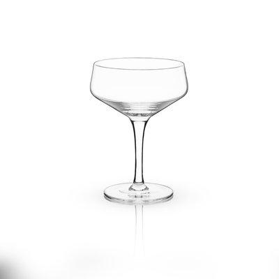 Viski Raye Crystal 7 oz. Coupe Glass