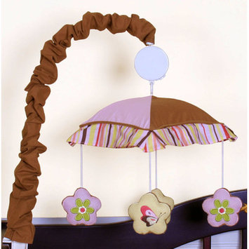 Zoomie Kids Fontaine Music Crib Mobile