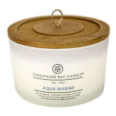 Chesapeake Bay Candles Heritage Aqua Marine Jar Candle