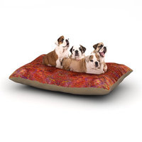 East Urban Home Nikposium 'Sedona' Dog Pillow with Fleece Cozy Top Size: Large (50