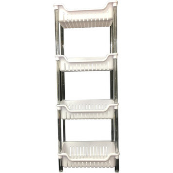 Wee's Beyond 4 Tier Storage Basket Color: White