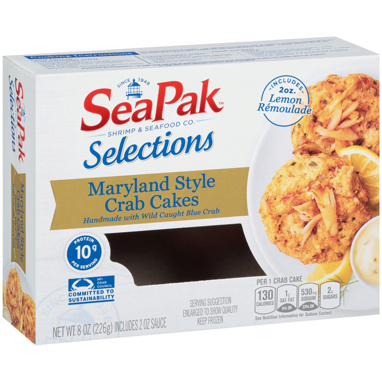 SeaPak® Selections Maryland Style Crab Cakes