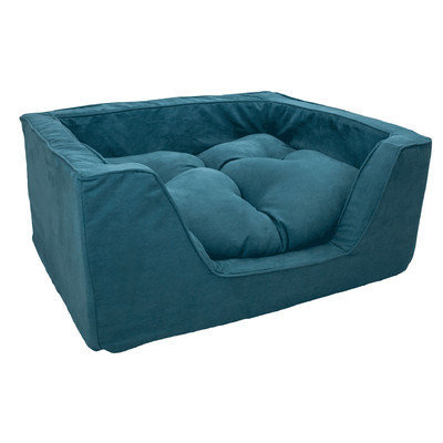 Snoozer Luxury Square Dog Bed Marine