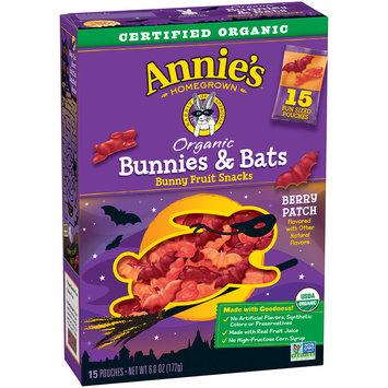 Annie's® Gluten Free Organic Berry Patch Fruit Snacks 5 ct 4 oz