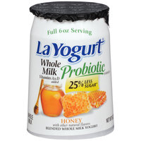 La Yogurt® Probiotic Honey Blended Whole Milk Yogurt 6 oz. Cup