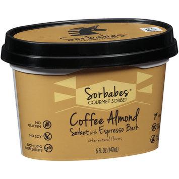 Sorbabes® Coffee Almond Sorbet with Espresso Bark 5 fl. oz. Tub