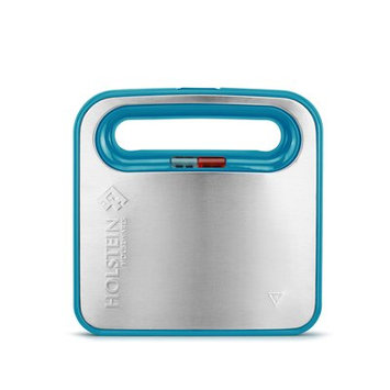 Holstein Housewares 2 Section Paninis and Sandwich Maker Color: Teal blue