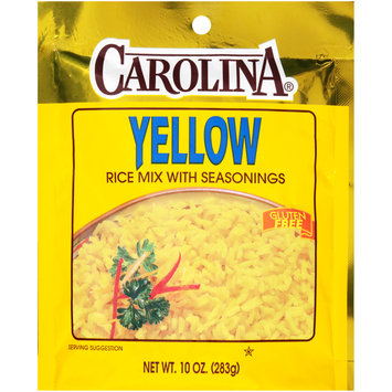 Carolina® Yellow Rice Mix with Seasoning 10 oz. Bag