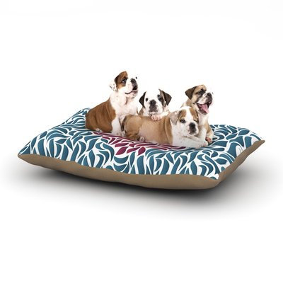 East Urban Home Nick Atkinson 'Desire' Dog Pillow with Fleece Cozy Top Size: Small (40