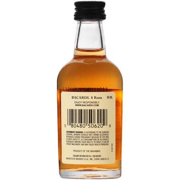 Bacardi® 8 Rum 50mL Glass Bottle
