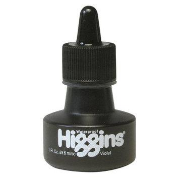 Higgins Waterproof Color Drawing Inks (Set of 3) Color: Violet