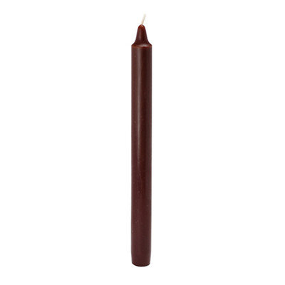 Varick Gallery Straight Taper Candle Color: Brown, Quantity: 144