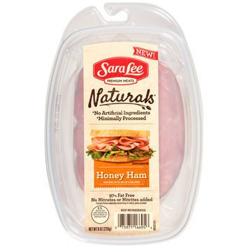 Sara Lee Naturals* Honey Ham 8 oz. Pack