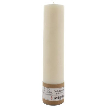 The Holiday Aisle Unscented Paraffin Pillar Candle Size: 9