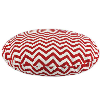 Chooty & Co. Chooty and Co Chevron Cherry Outdoor 36-inch Round Pet Bed