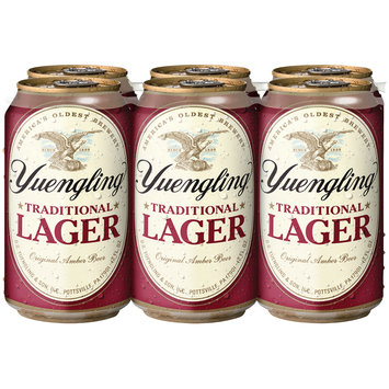 Yuengling® Traditional Lager 6-12 fl. oz. Cans