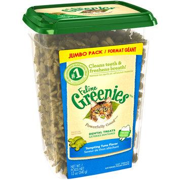 Feline Greenies™/MC Tempting Tuna Flavor Cat Dental Treats 12 oz. Tub