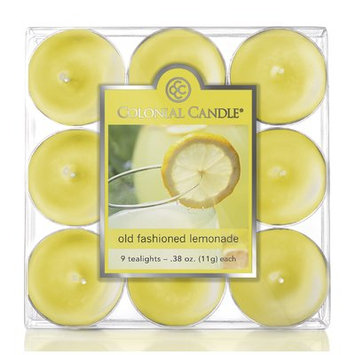 Colonial Candle Old Fashioned Lemonade Scent Tea Light