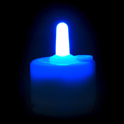 Theamazingflamelesscandle Performance Series Flameless Candle (Set of 6) Color: Blue