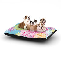 East Urban Home Laura Escalante 'Summer Time' Dog Pillow with Fleece Cozy Top Size: Large (50