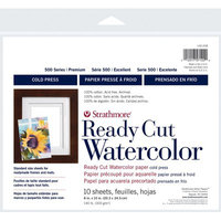 Strathmore Ready Cut W/C Sheets 8x10 140lb Cp