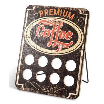 The Gerson Companies Lone Elm Studio 8 Pod Single Serve Coffee Capsule Holder