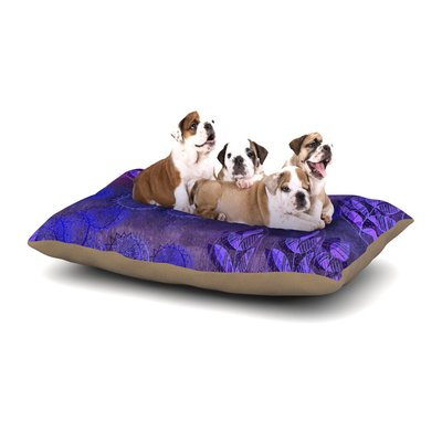 East Urban Home Marianna Tankelevich 'Summer Night' Dog Pillow with Fleece Cozy Top Size: Large (50