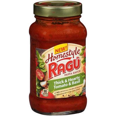 Ragu® Homestyle Thick & Hearty Tomato & Basil Pasta Sauce 23 oz. Jar