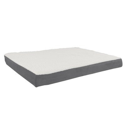 Petmaker Orthopedic Sherpa Memory Foam Dog Mat Size: Large (36