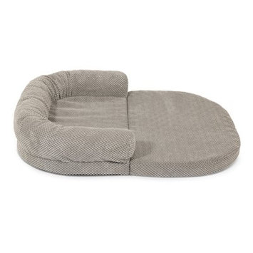 Precioustails Extendable Bolster Color: Gray