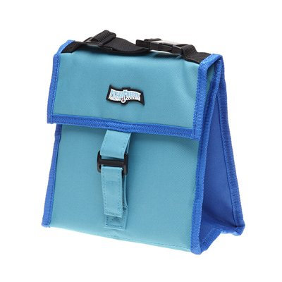 Maranda Enterprises FlexiFreeze Freezable Snack Tote Cooler Color: Teal/Blue