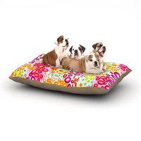 East Urban Home Ebi Emporium 'Circular Persuasian' Dog Pillow with Fleece Cozy Top Size: Small (40