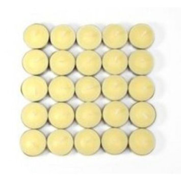 Red Barrel Studio Vanilla Scented Tealight Candles Color: Ivory