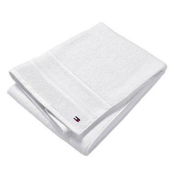 Tommy Hilfiger Signature 6 Piece Towel Set Color: White