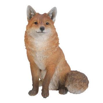 Hi-line Gift Ltd. Seated Fox Statue