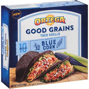 Ortega® Good Grains Blue Corn Taco Shells 4.9 oz. Box