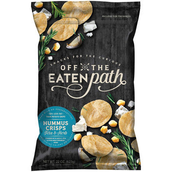 Off the Eaten Path™ Feta & Herb Hummus Crisps 19 oz. Bag