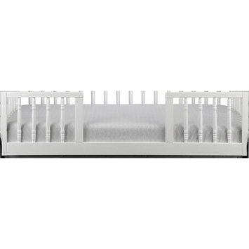 Karla Dubois Zola Toddler Guard Conversion Rail Finish: Pure White