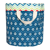 Heritage Lace Nantucket Tote in Blue/Red/White