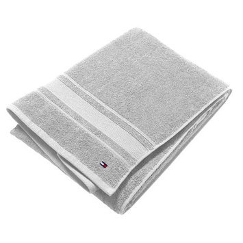 Tommy Hilfiger Signature 6 Piece Towel Set Color: Gray
