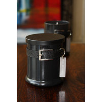 Acadian Candle Urban Light Leather Cedar Citron Designer Candle