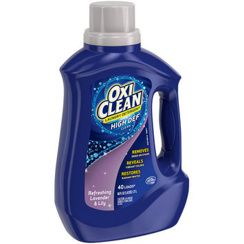 Oxiclean™ Refreshing Lavender & Lily High Def Clean Laundry Detergent 60 fl. oz. Plastic Jug