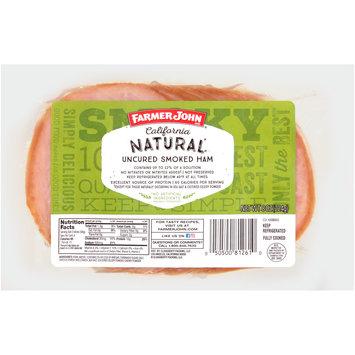Farmer John® California Natural Uncured Smoked Ham 8 oz. Pack