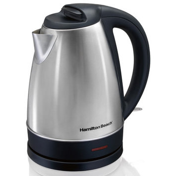 Hamilton Beach 40989e Stainless Steel Electric Cordless Kettle 7.2 CUP (1.7 liters)