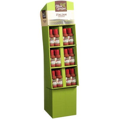 Olive Garden Red Wine Balsamic 16 oz. Bottle Shipper Display
